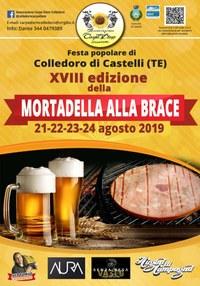 18^ edizione della mortadella alla brace di Colledoro (Castelli)