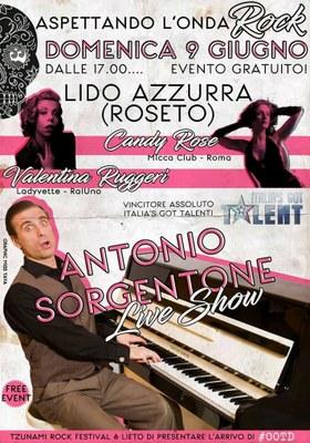 Aspettando l'onda ROCK: Antonio Sorgentone live show