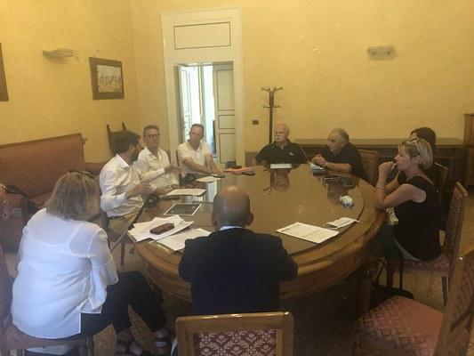 Centro di riuso a Roseto: i Comitati hanno incontrato il presidente Di Bonaventura. La Provincia ha in esame la richiesta di variante al Prg