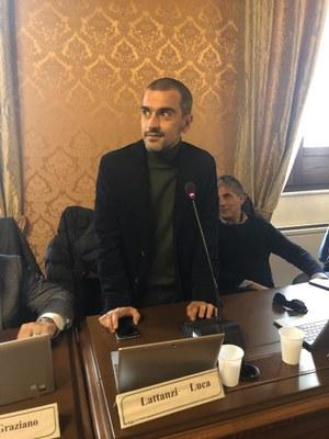 Consiglio provinciale: approvato il bilancio consolidato delle partecipate. In Consiglio entra Luca Lattanzi.