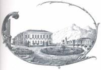 una foto antica del palazzo della Provincia