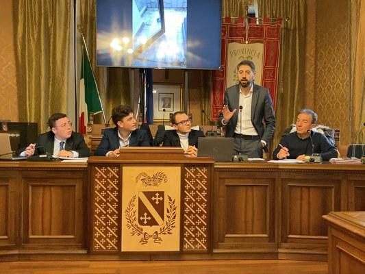 """La vicenda dell'IIS """"Marino"""" ha dato vita ad un interessante confronto fra la Consulta degli Studenti e il presidente Di Bonaventura."""