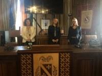 riunioneCPO. sx Beta Costanini, Maria Franca d'Agostino, Tania Bonnici Castelli