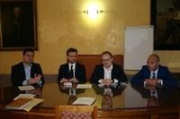 consigliere-Seca,-prof.-Corsi UNITE,-consigliere-Rossi,-presidente-BIM-Fieni