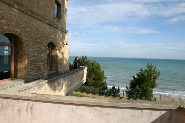Vista mare dalla Torre del Cerrano.