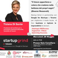 Startup Grind: secondo appuntamento con l'imprenditrice Tiziana Di Sante
