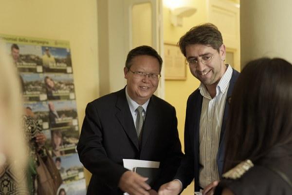 Una Provincia con 49 milioni di abitanti: questa mattina una delegazione cinese dello Yunnan in visita a Teramo per avviare scambi commerciali e professionali